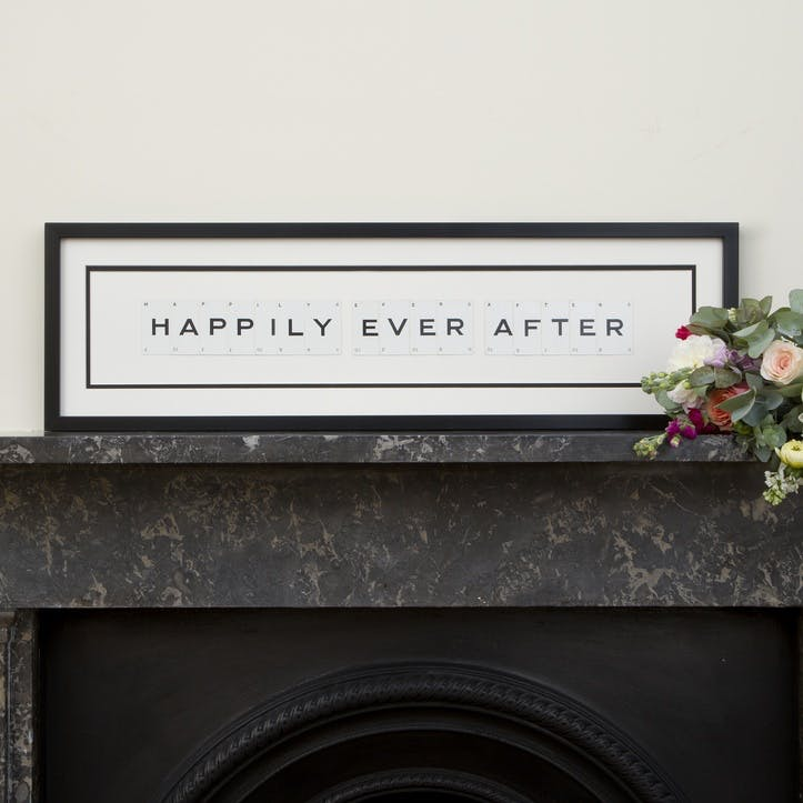 'Happily Ever After' Word Frame