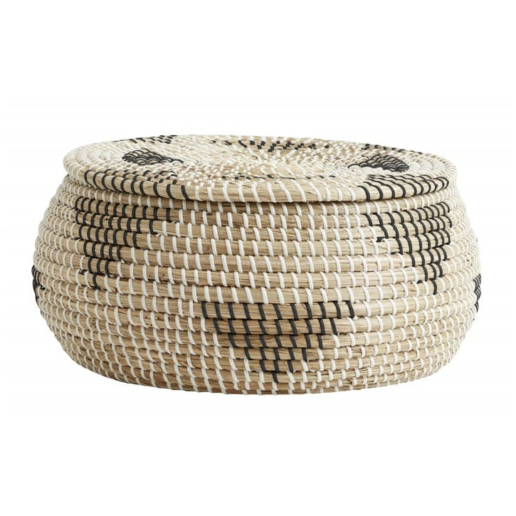 Rosea Lidded Basket
