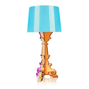 Bourgie, Table Lamp, Multicoloured Light Blue