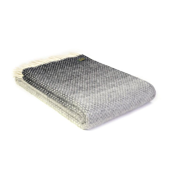 Ombre Throw, Pebble