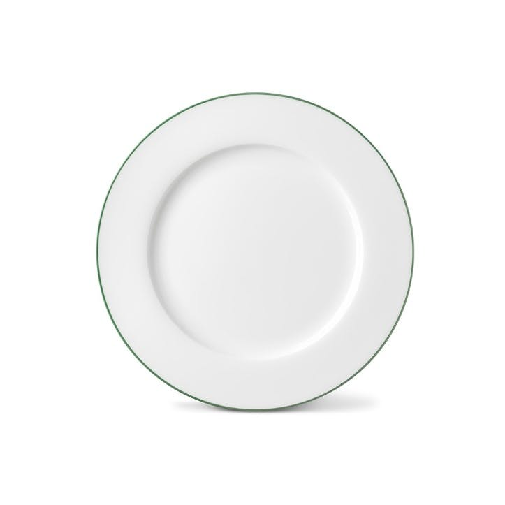 Rainbow Dinner Plate, Jungle Green