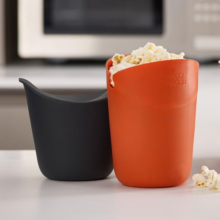 M-Cuisine Single-Serve Popcorn Maker, Set of 2