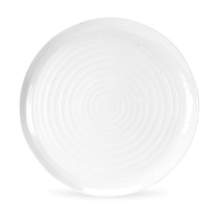 Round Platter; White