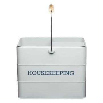 Living Nostalgia Housekeeping Box in French Grey