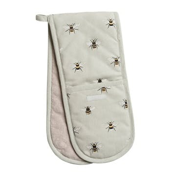 'Bees' Double Oven Glove