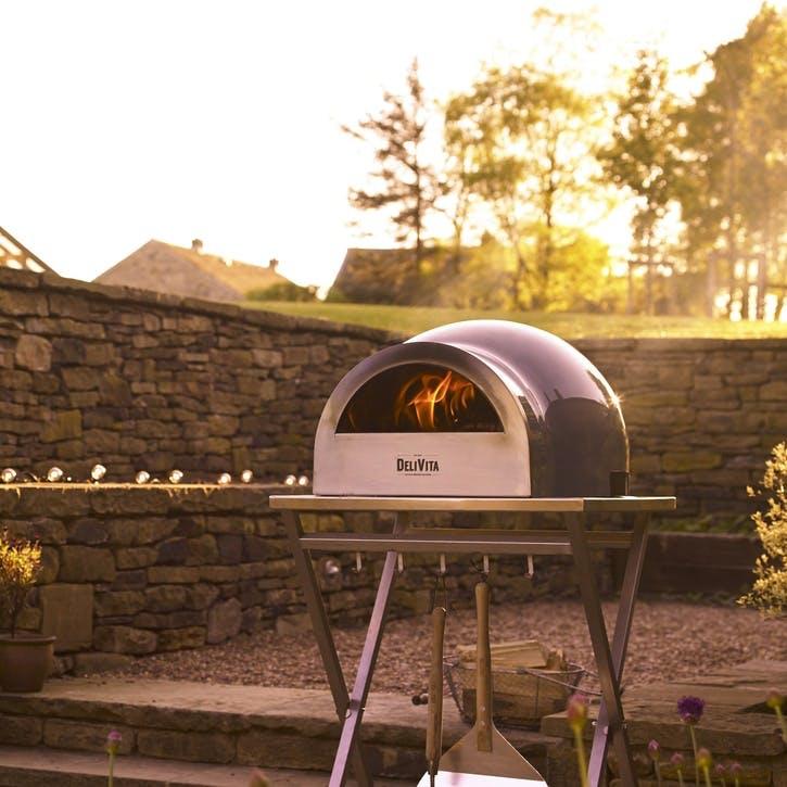 Delivita Outdoor Oven; Very Black