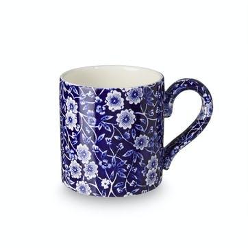 Calico Mug, 284ml, Blue