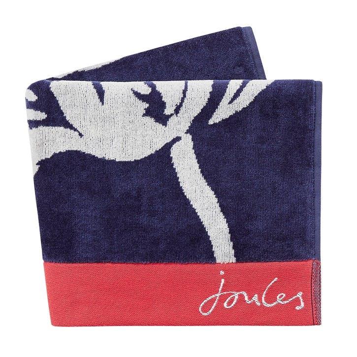 Dawn Shadow Floral Bath Towel