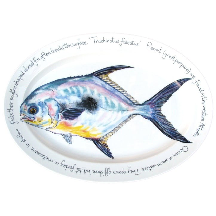 Permit Oval Plate - 39cm