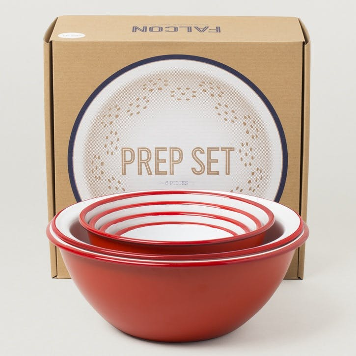 Prep Set, Pillarbox Red