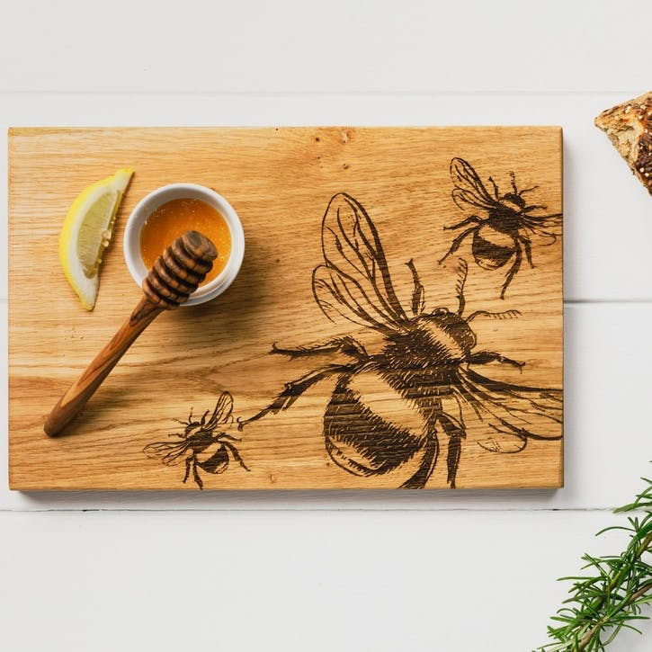 Bees Serving Board