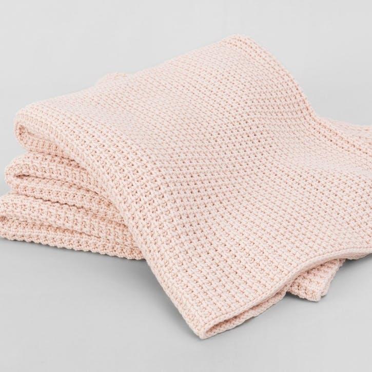 Haden Throw, Soft Pink