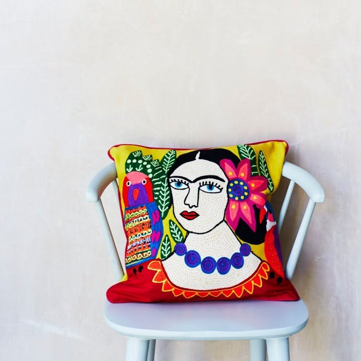 Mexicana Cushion, Yellow