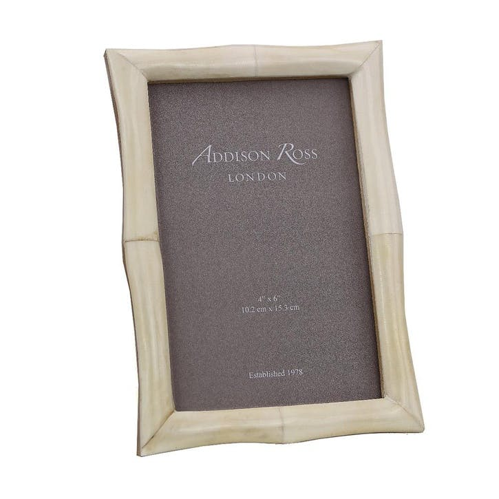 White Bone Photo Frame - 4 x 6