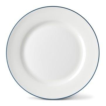 Rainbow Side Plate, Marine Blue