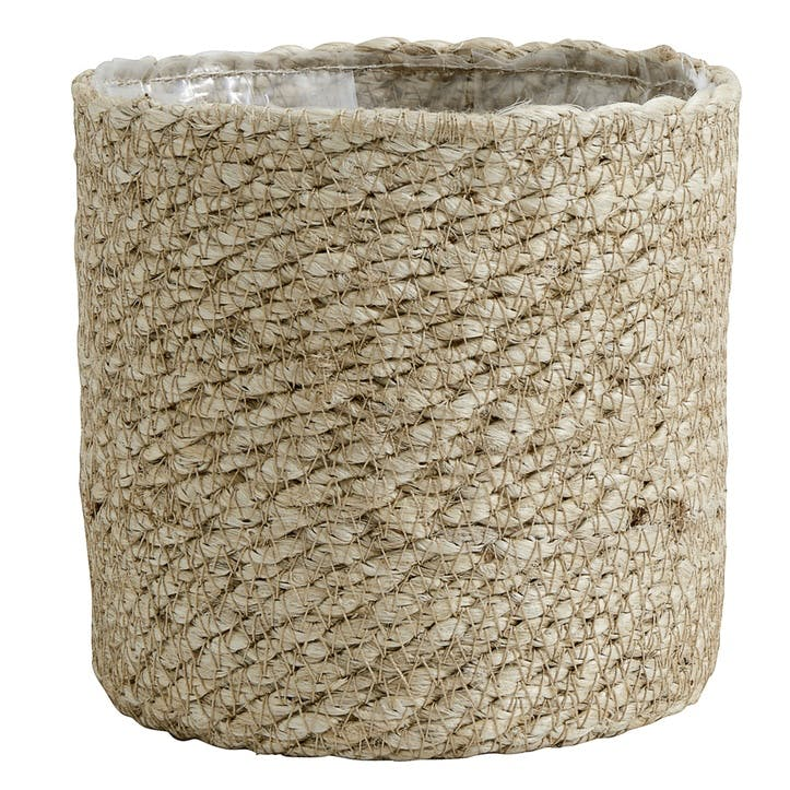 Jute Rope Lined Basket, Small
