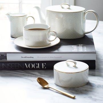 Arris White Teapot