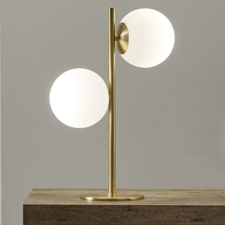 Monroe Table Lamp, Gold