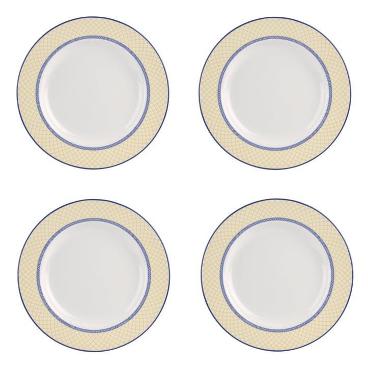 Giallo Dinner Plates, Set of 4