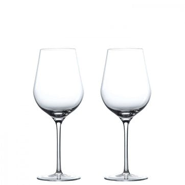Globe White Wine Glass, Set of 2