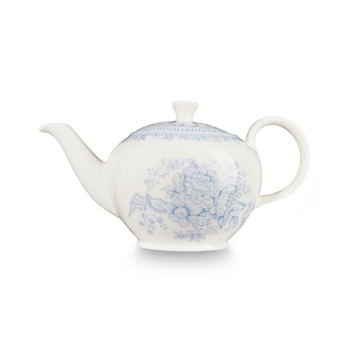 Asiatic Pheasants Teapot, 3-4 Cups, Blue