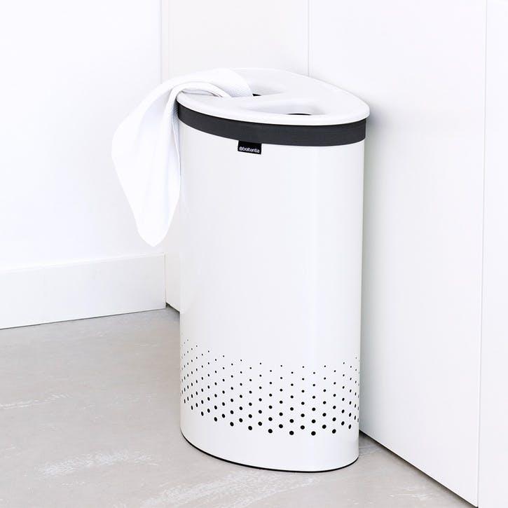 Laundry Bin Selector, 55L, White