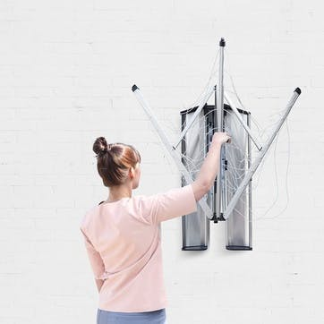 Wall Fix Wall Mounted Dryer With Protection & Storage Box
