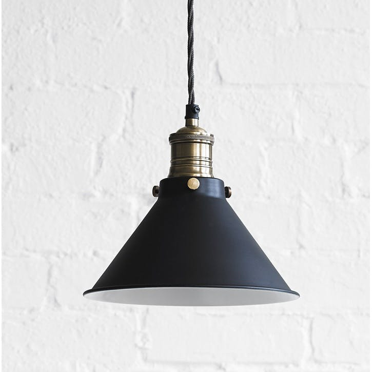 Dexter Pendant Light in Ash Black, Smaller