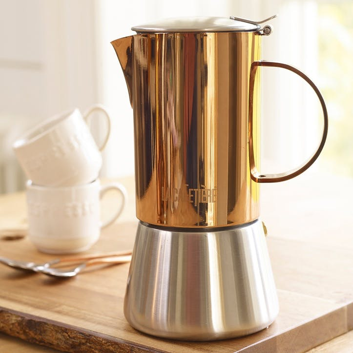 Origins Stainless Steel Stovetop, Copper, 4 Cup