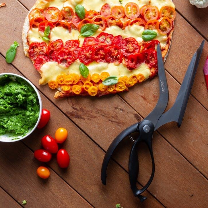 Scizza Pizza Scissors, Black