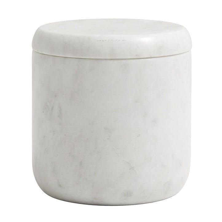White Marble Jar