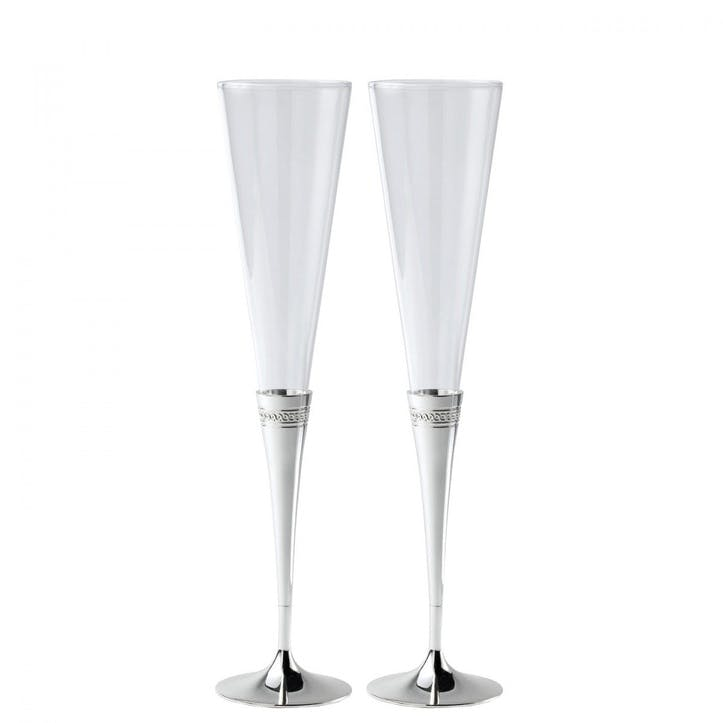 Simply Wish Toasting Flutes, Set of 2
