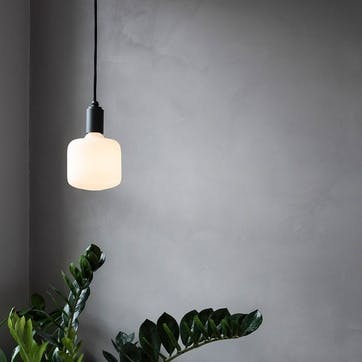 Oblo 6W LED Shaped bulb H17 x W13cm Clear