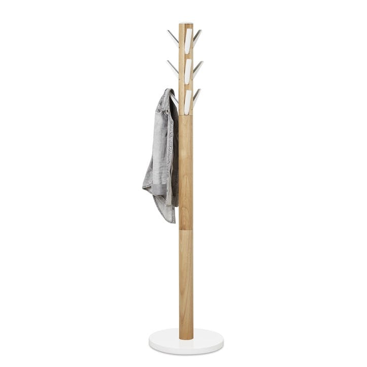 Flapper Coat Rack, Natural