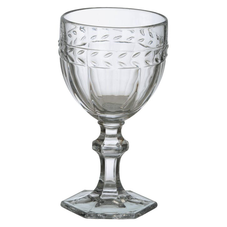 Camargue Goblet, Clear