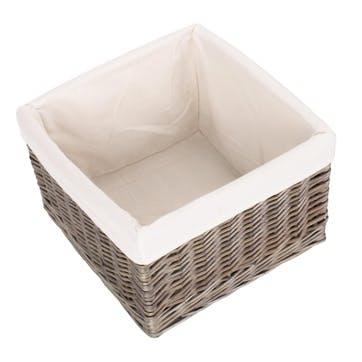 Medium Antique Wash Storage Basket
