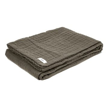 6-Layer Soft Blanket, Clay