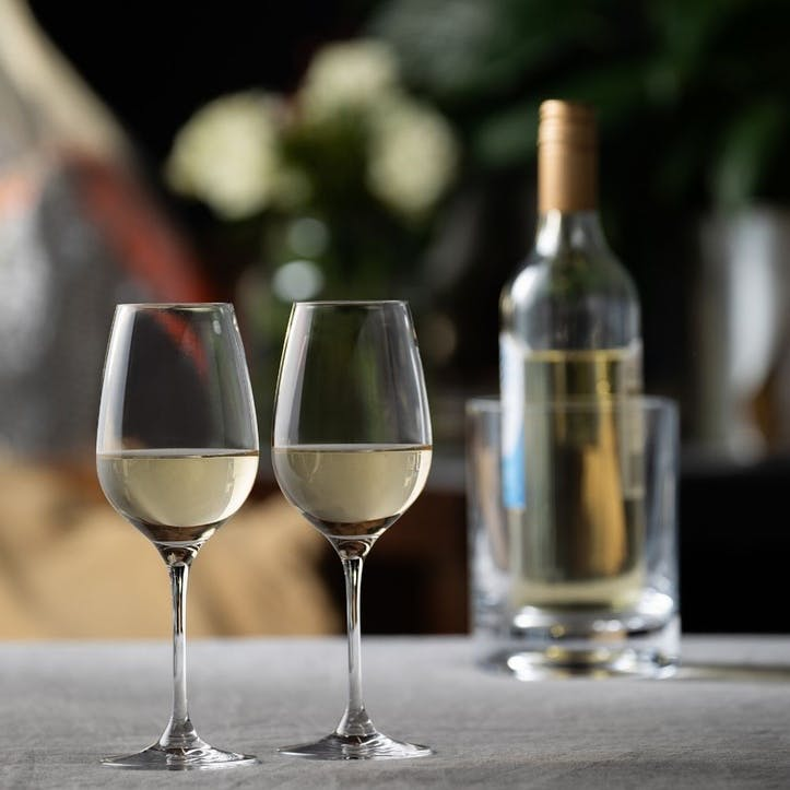 Just For Two White Wine Glass, Set of 2