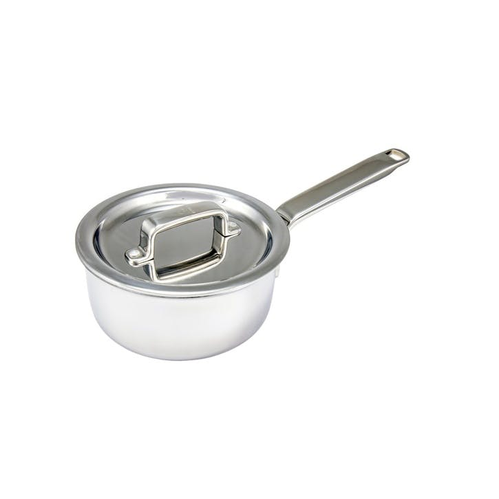 Tri Ply Stainless Steel Saucepan, 6""