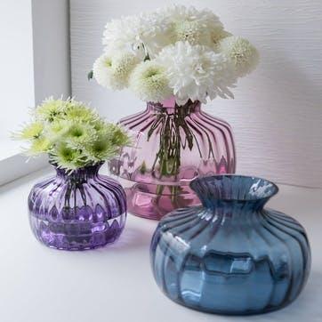 Cushion Vase Ice Blue, Medium