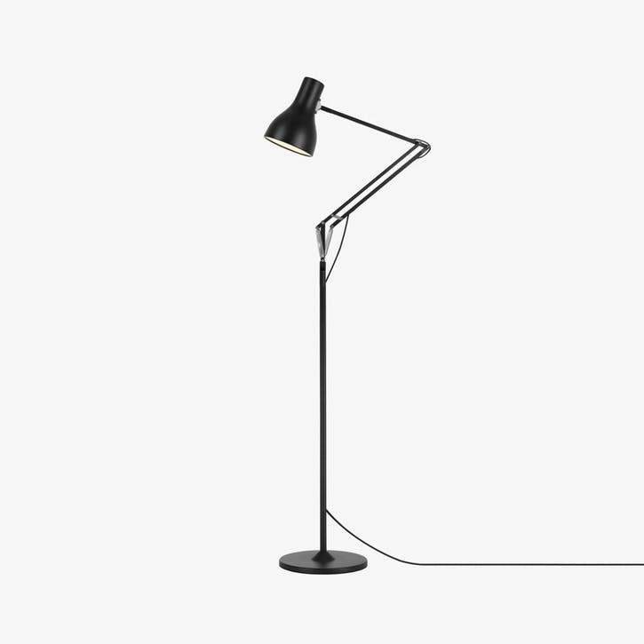 Floor Lamp Jet Black