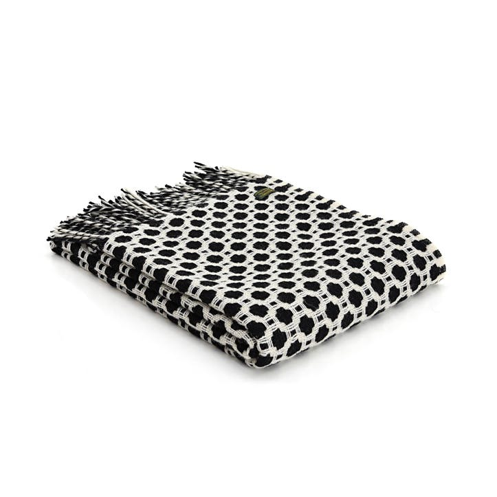 Crossroads Throw; Black