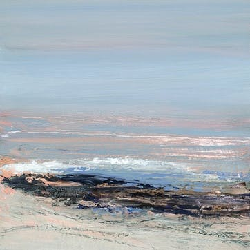 Joanne Last Sea Interlude I Canvas Print - 30 x 30cm