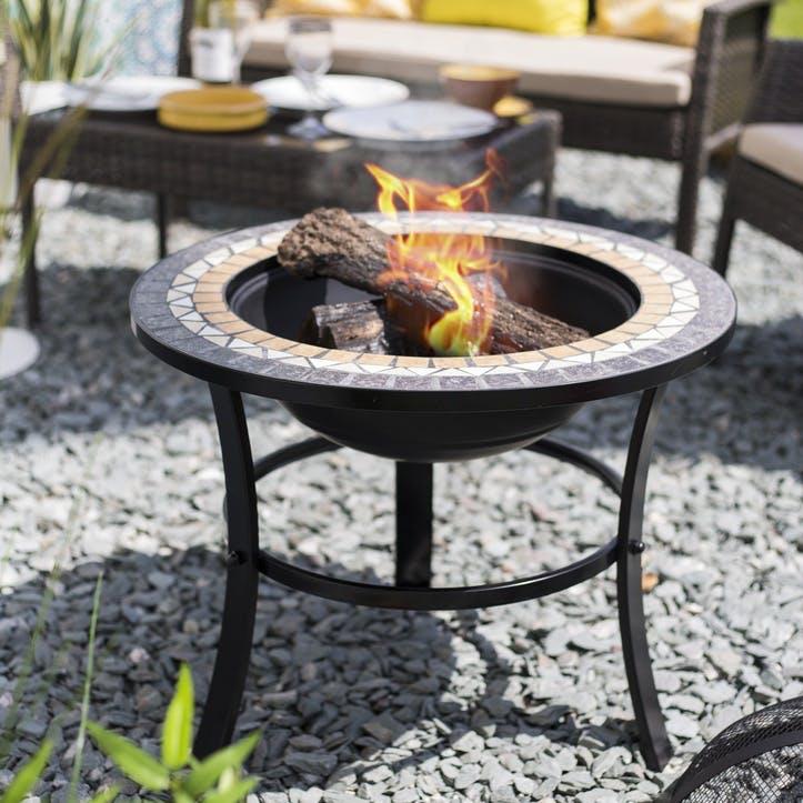 Skyros Mosaic Firepit & Grill