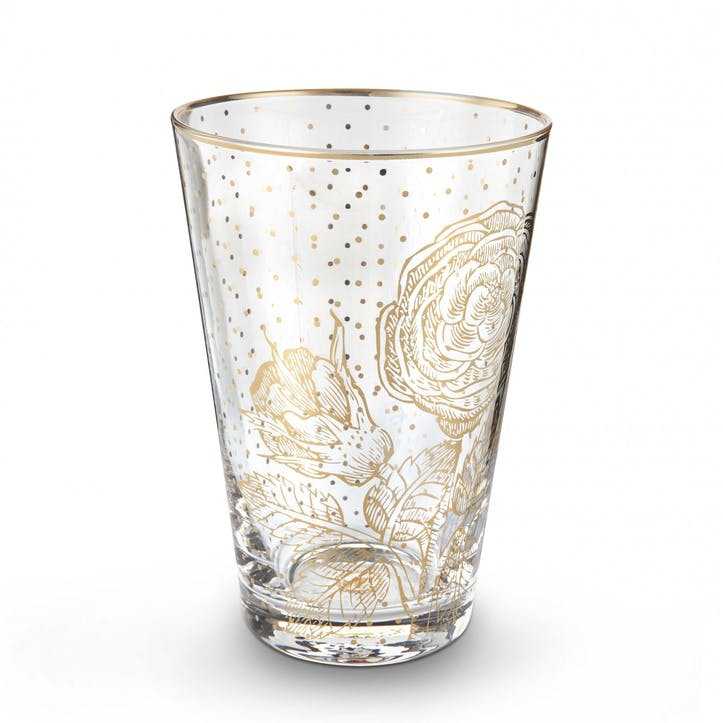 PiP Royal Golden Flower Longdrink Glass