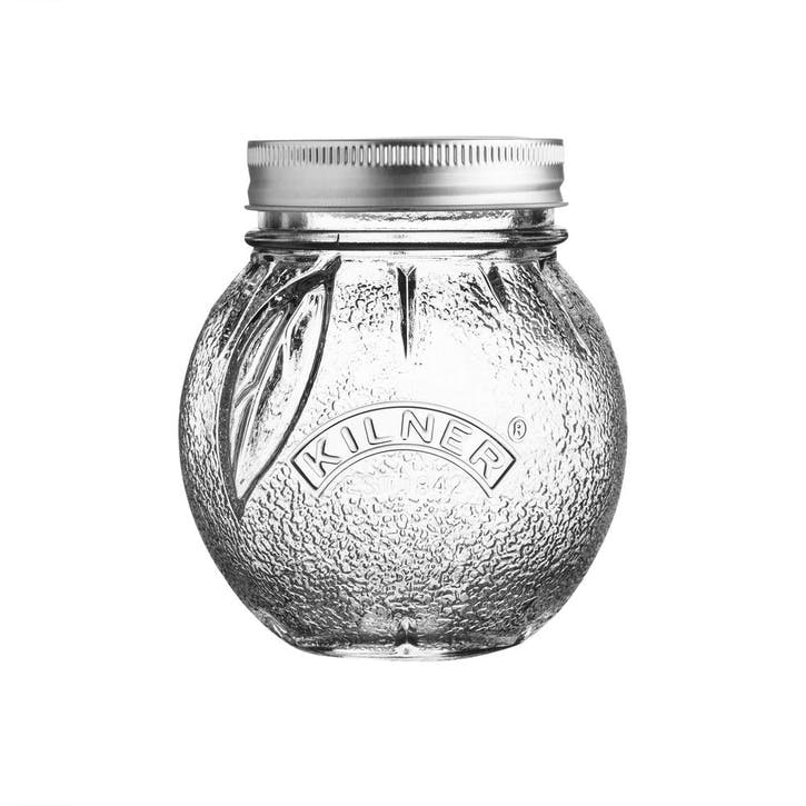 Fruit Perserve Jar, Orange