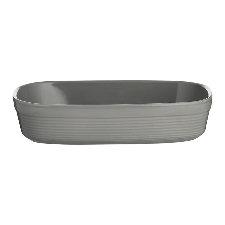 William Mason Rectangular Oven Dish, Grey