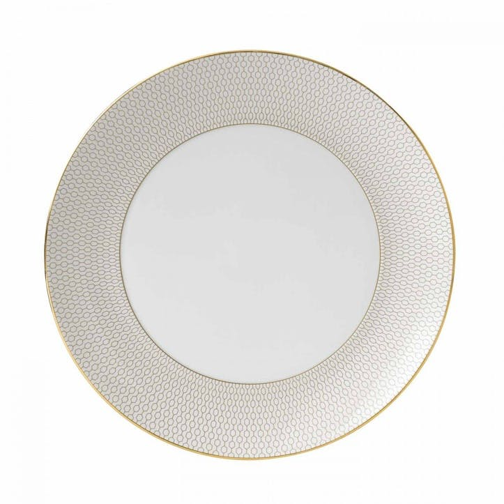 Arris White Dinner Plate, 28cm