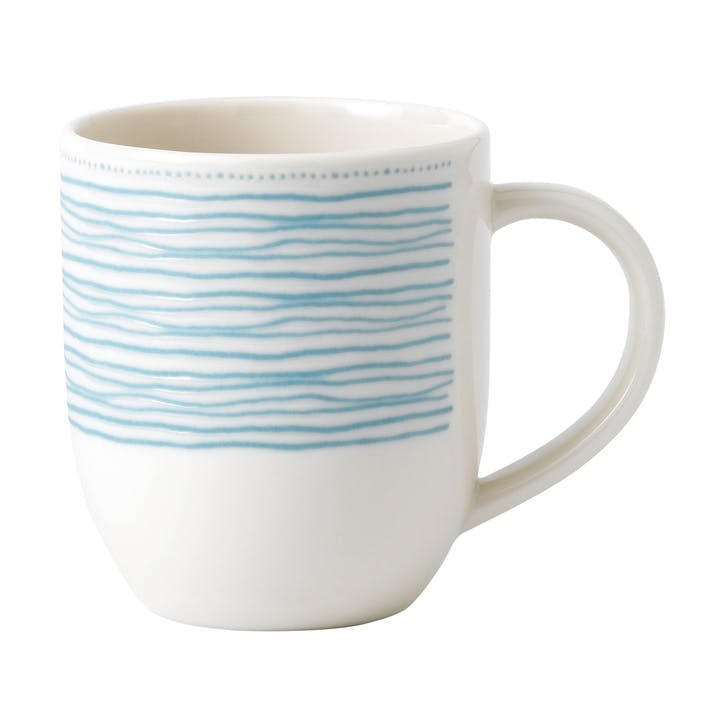 ED Ellen DeGeneres Mug, Polar Blue Dots