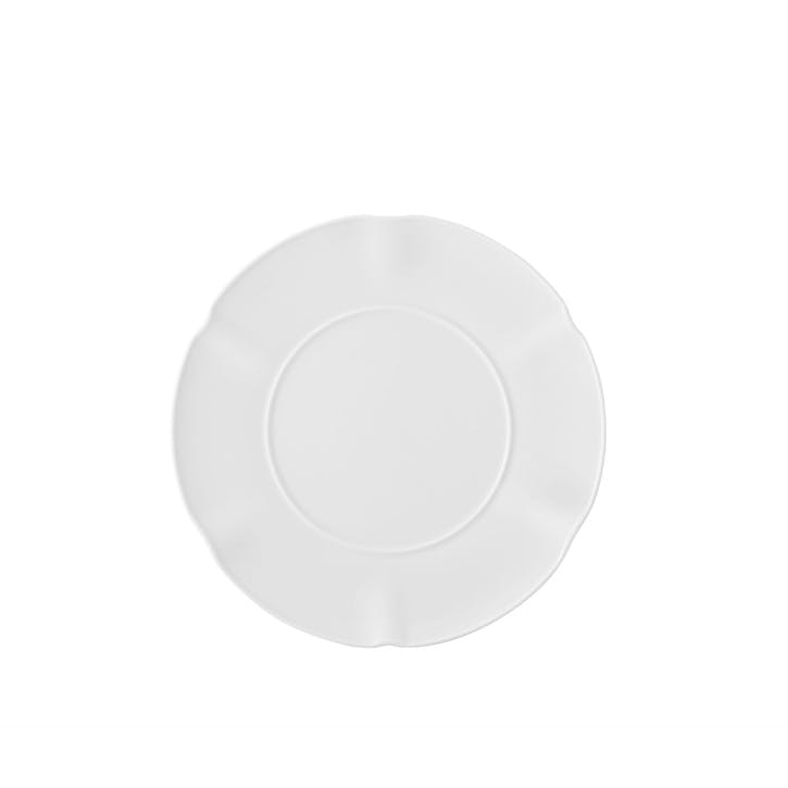 Crown White Side Plate